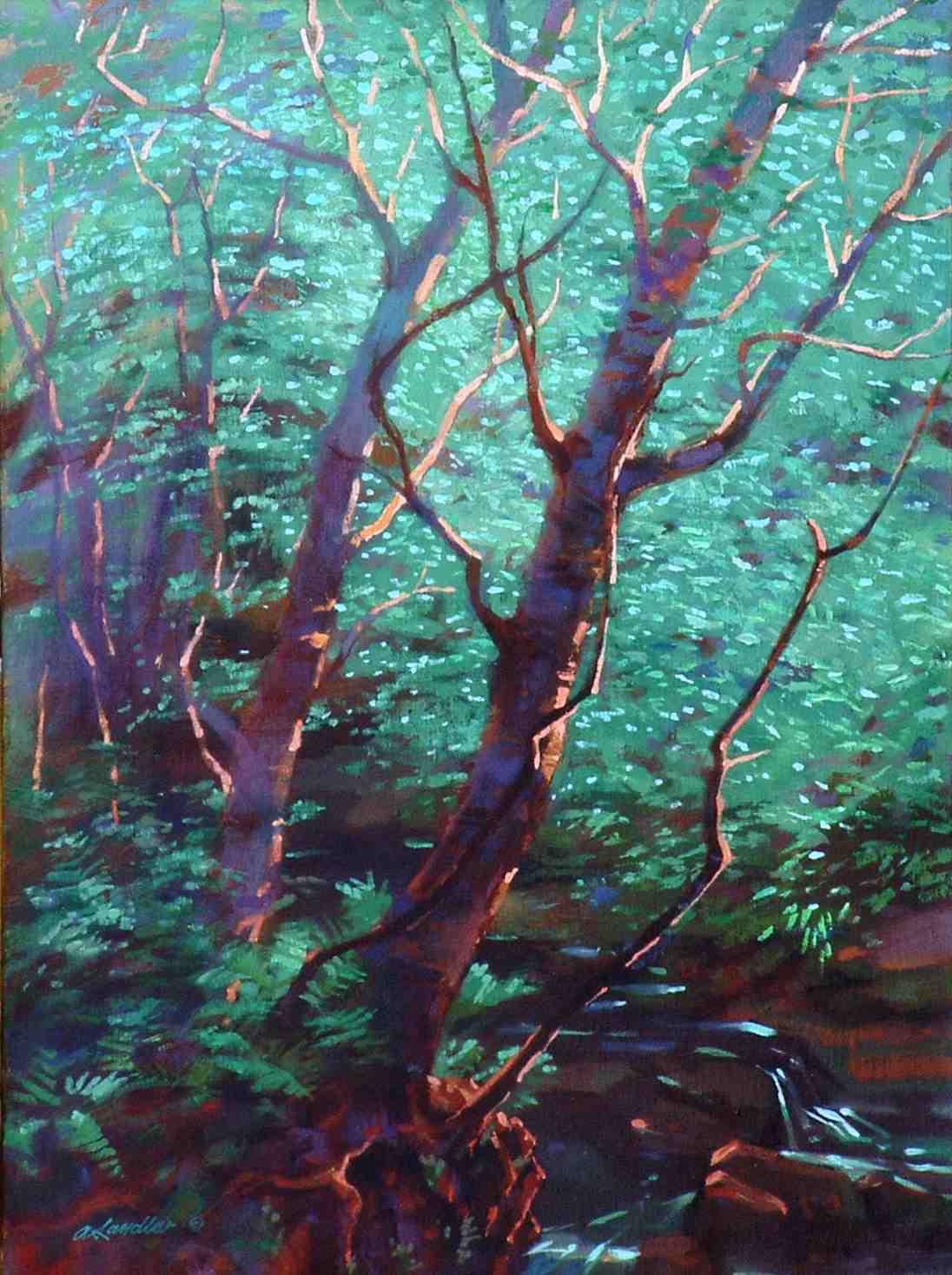 painting called Birches