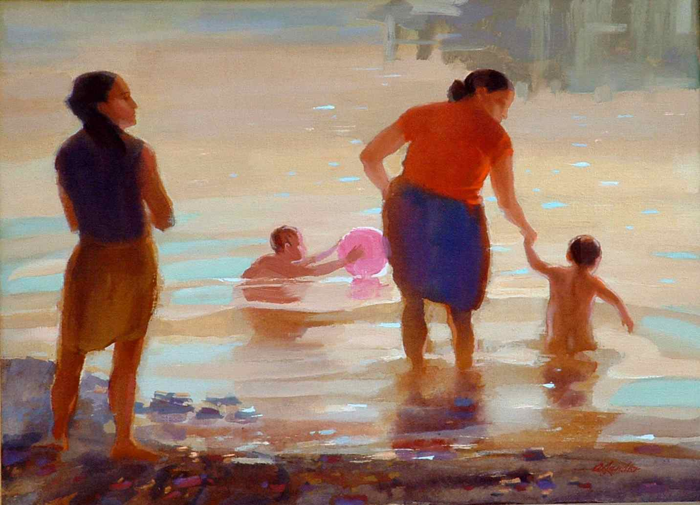 painting called Bathers